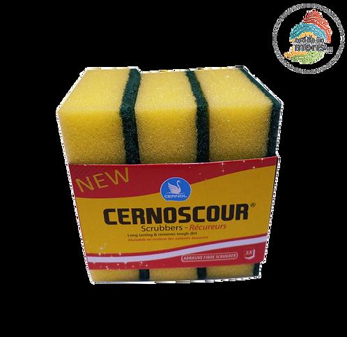 Cernoscour Sponge Scourer (pack of 3)