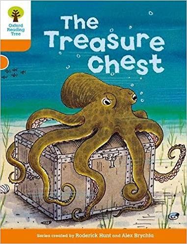 The Treasure Chest -  Level 6 stories (Turquoise)