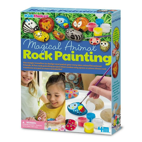 Magical Animal Rock Painting