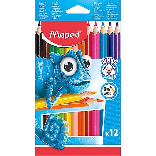 Maped Crayon Couleur Pulse Maxi x 12 Couleur