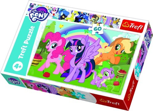 "Puzzles - ""60"" - Rainbow friendship / Hasbro My Little Pony"