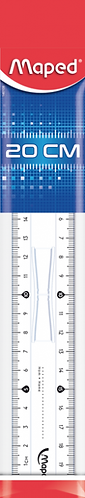 Maped Régle Double Decimetre Essentials(20cm)