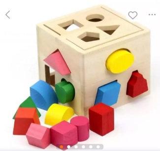 Shapes Sorting Intelligence box