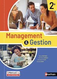 Management et gestion 2de - Livre et licence élève-Nathan