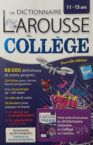 Dictionnaire Du College avec Carte d'activation (11-15ans)