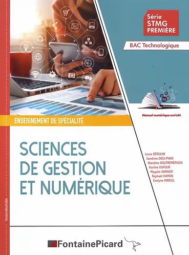 Management Sciences de gestion et numérique - Term STMG