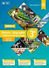 Histoire-Géographie-EMC cycle 4/ 3ᵉ - Manuel de l'élève - Ed. 2016