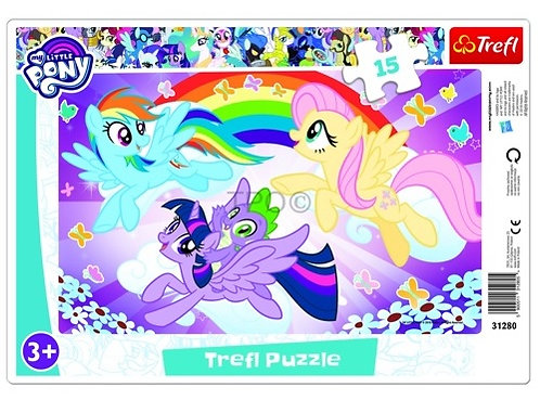 "Puzzles - ""15 Frame"" - Pony play / Hasbro, My Little Pony"