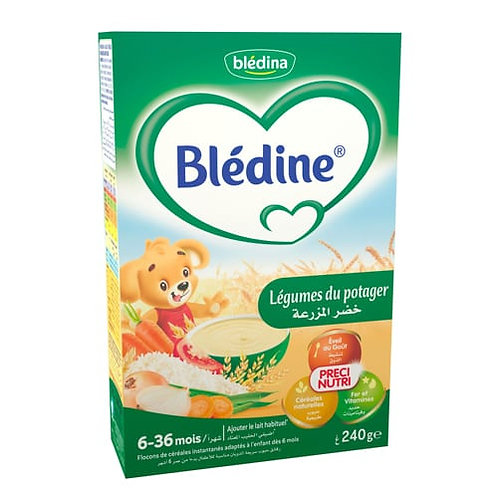Bledine Légumes Du Potager 240g