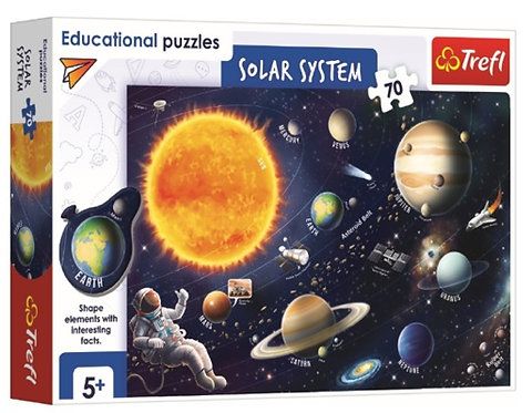 """Puzzles - """"25 Frame"""" - Solar system"""