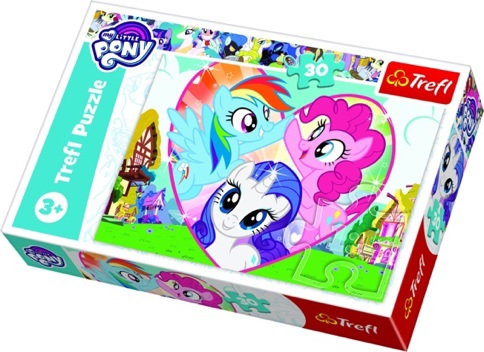 """Puzzles - """"30"""" - Bettertogether / Hasbro, My Little Pony"""