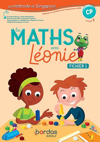 Les maths avec Léonie CP - Méthode de Singapour * Cahier de l'élève (Ed. 2019)