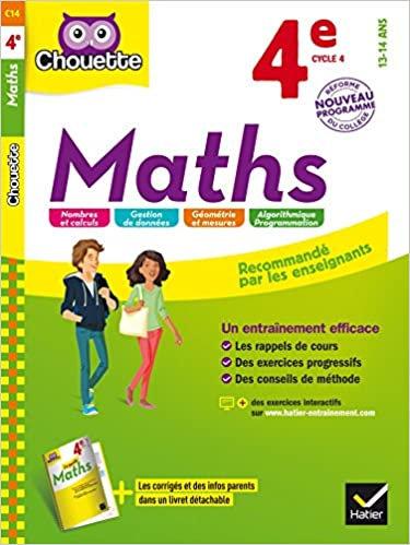 Chouette Maths 4e