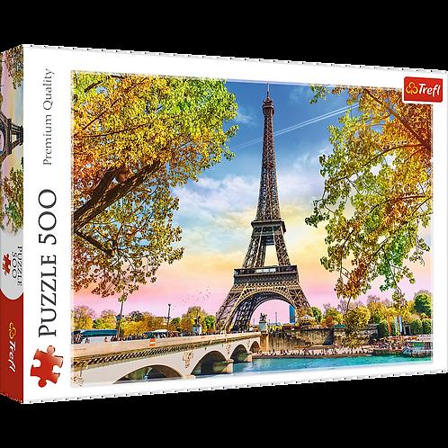 """Puzzles - """"500"""" - Romantic Paris"""