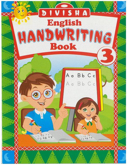 DIVISHA ENGLISH HANDWRITTING BOOK NO.3