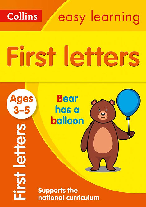 FIRST LETTERS (COLLINS EASY LEARNING PRESCHOOL)