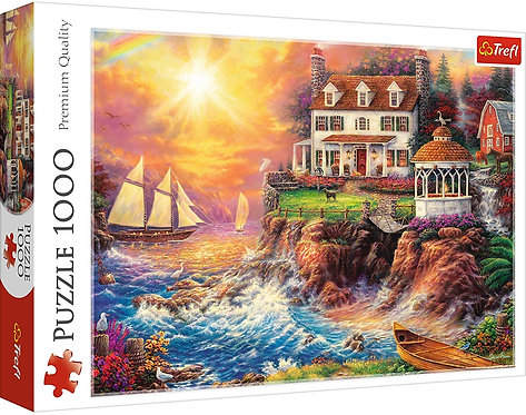 """Puzzles - """"1000"""" - Peaceful haven"""