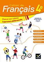 Cahier de Français 4ème
