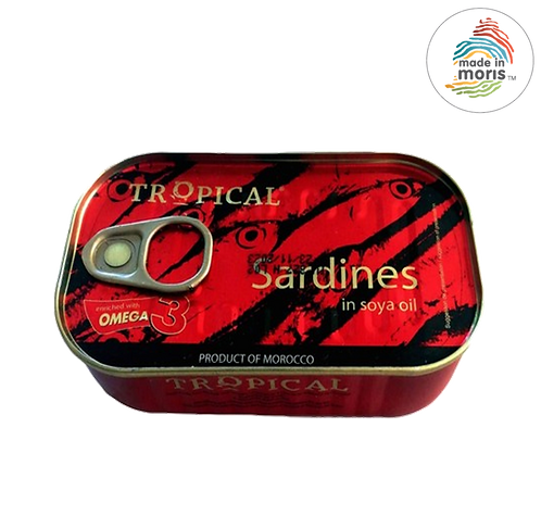 Tropical Sardine in Soya Oil 125g