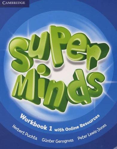 Super Minds Level 1 Workbook with Online Resources (Cambridge)