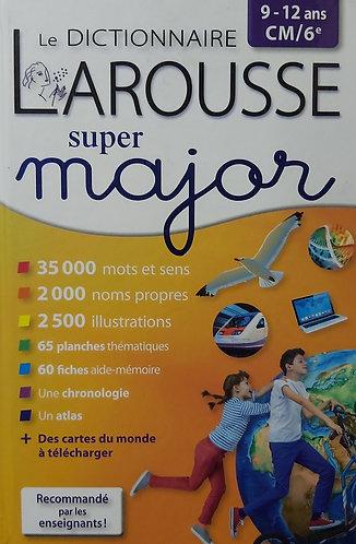 Larousse Dictionnaire Super Major ( 9 - 12ans)