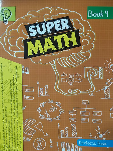 Super Math Book 4
