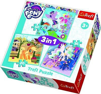 """Puzzles - """"3in1"""" - Happy days of ponies My Little Pony"""