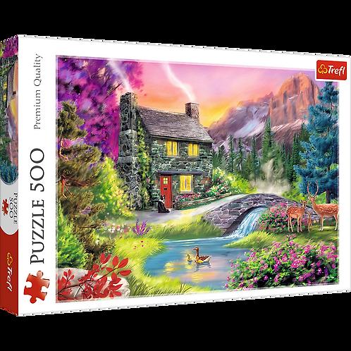 "Puzzles - ""500"" - Mountain idyll"