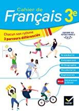 Mon Cahier De Français  3ème 2020