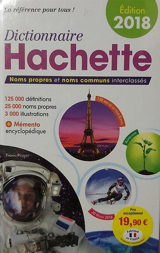 Dictionnaire Hachette 2018 France Gaillard B- Hachette Livre