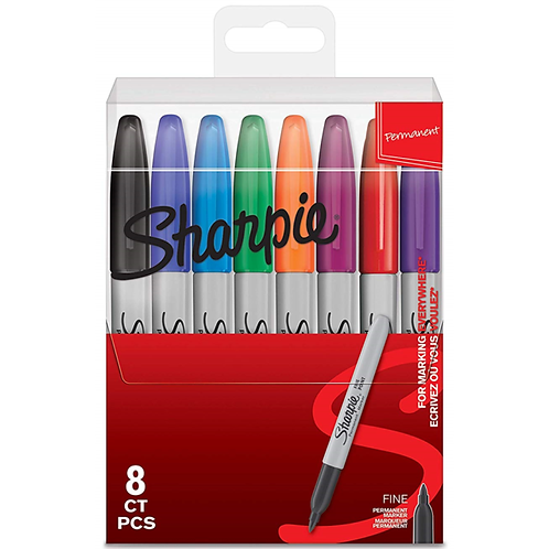 Sharpie Permanent Marker Pens Set of 8
