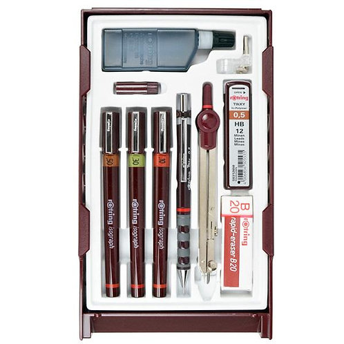Rotring Isograph Master Set of  3 - 0.1,0.3,0.5