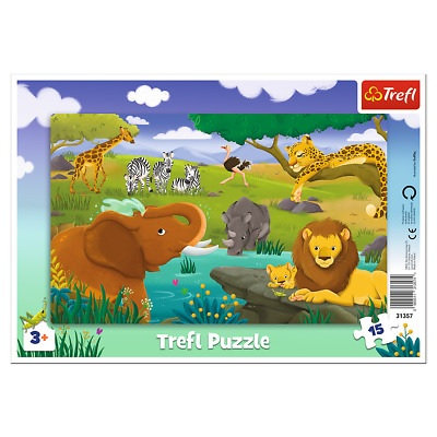 "Puzzles - ""15 Frame"" - Safari"
