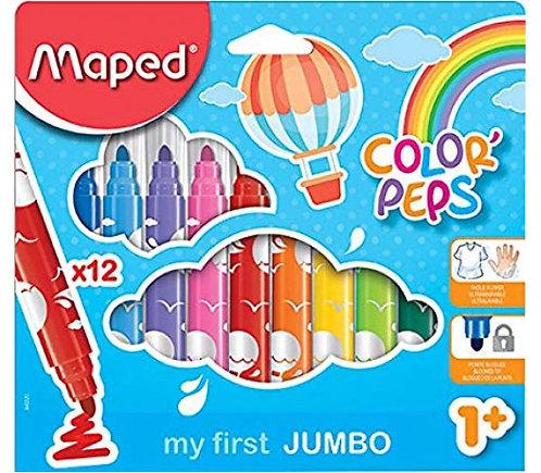 Feutres Color'peps Maped Maxi 12 846020
