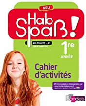 HAB SPAB ALLEMAND LV2 – 1 ère année cahier (A acheter Neuf)