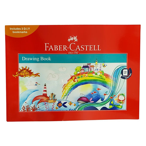 Faber Castell Drawing Book Large