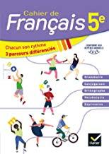 Cahier de Français 5ème Ed 2020