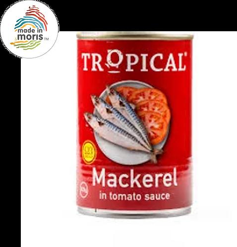 Tropical Mackerel In Tomato Sauce 425g