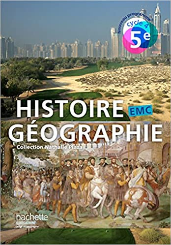 Histoire-Géographie-EMC cycle 4/  5ᵉ  - Ed. 2016
