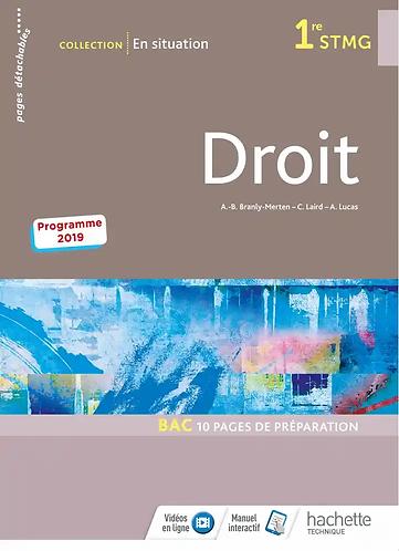 Droit «en situation»-Hachette