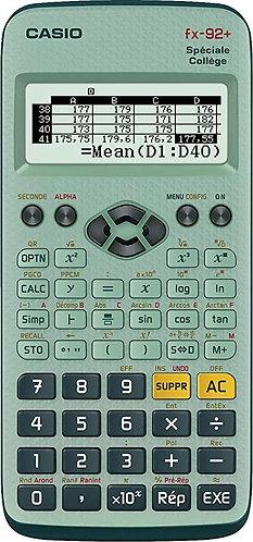 Casio - Calculatrice Scientifique FX-92+