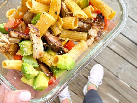 easy pasta salad!!