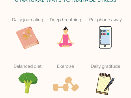 6 ways to manage stress
