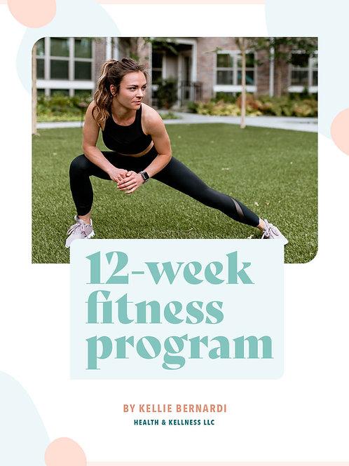 12-Week Fitness Program
