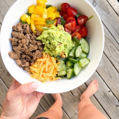easy homemade taco salad!