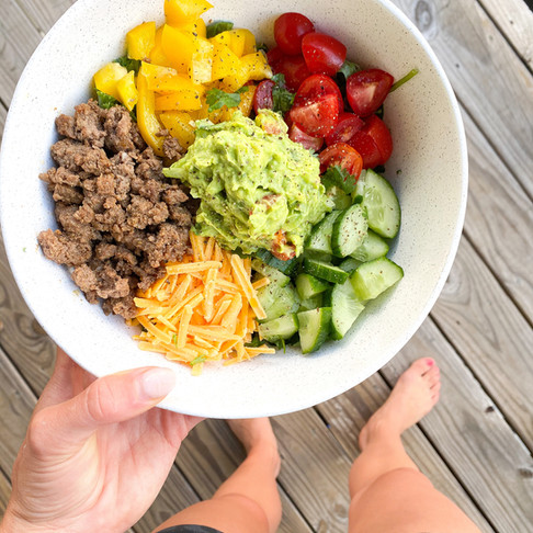 easy homemade taco salad!