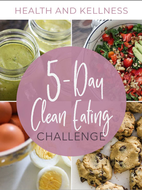 5-Day Clean Eating Challenge