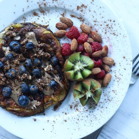 flourless banana pancakes