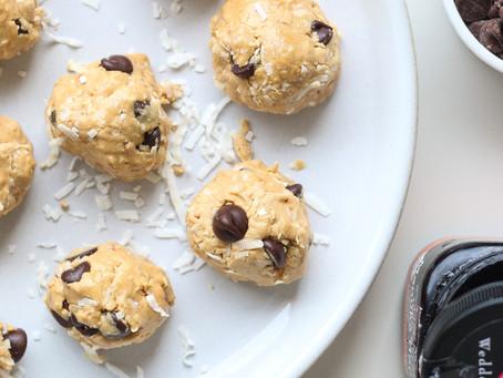 peanut butter cookie dough bites