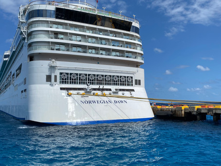 our honeymoon on the norwegian dawn